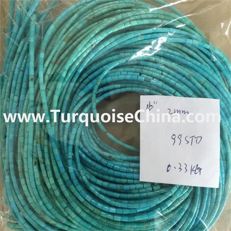 Gemstone Jewellery Turquoise America Beads, Turquoise Seed Beads