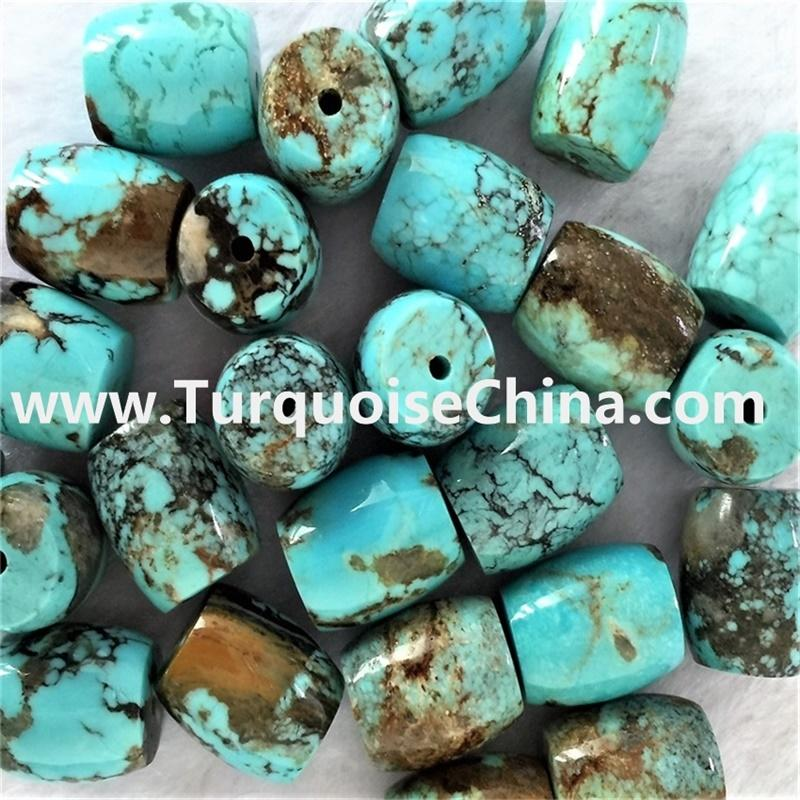 Turquoise drum Beads Strands,Natural