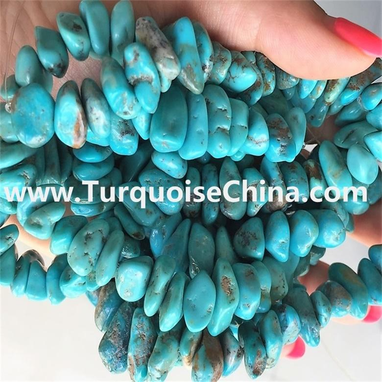 Turquoise Chips Beads Gemstone Natural Turquoise Stone Beads