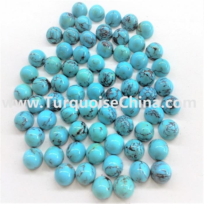 Natural turquoise gemstone bullet natural gemstone loose beads jewelry DIY