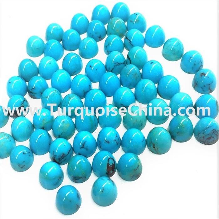 Sleeping beauty turquoise Gemstone Carved Bullet Pendant Beads