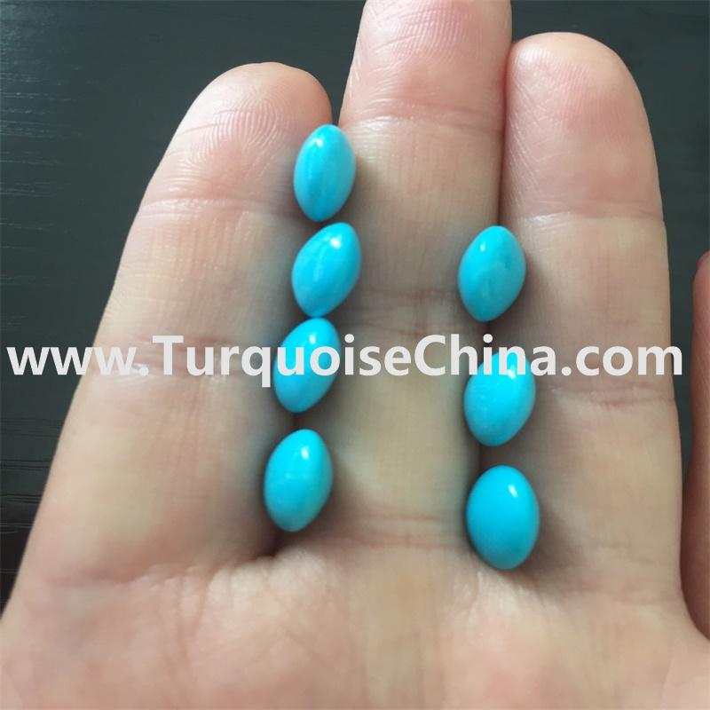 Sleeping Beauty Naturally Gemstone Turquoise Disk Beads Jewelry