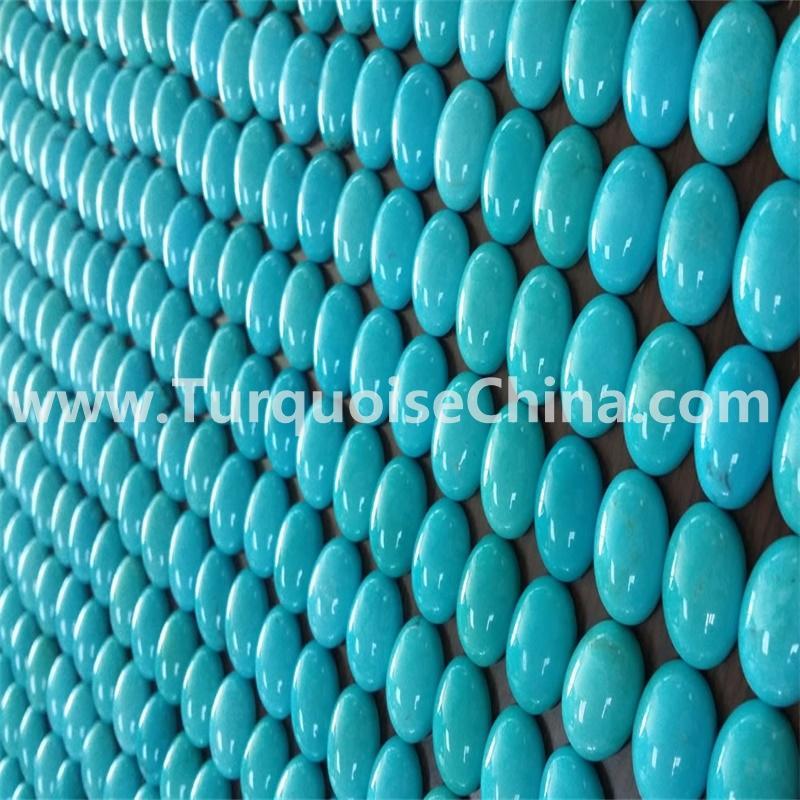 9x7mm oval Arizona Natural Sleeping beauty turquoise cabochons gemstone jewellery