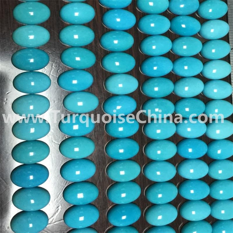 5x7 mm sky blue sleeping beauty gemstone turquoise oval cabochon