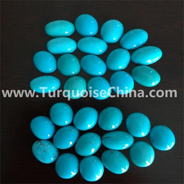 naturally Oval Sleeping Beauty Blue Turquoise cabs cabochons gemstones