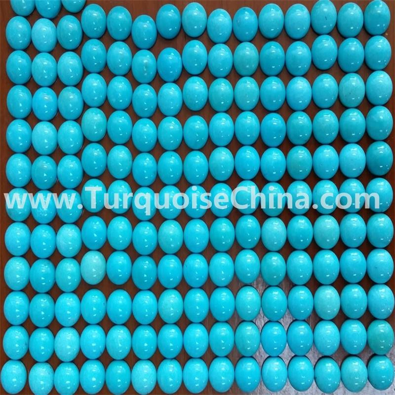 Natural Sleeping Beauty Turquoise Round Cabochon - Buy Turquoise Cabochon