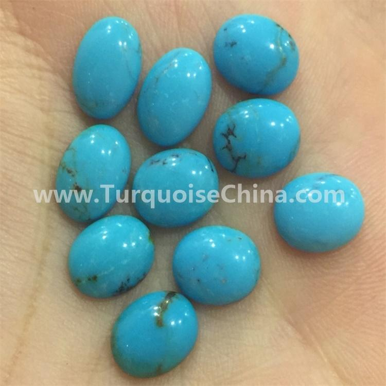 New Turquoise Oval Gemstone Cabochon for desinger lovely