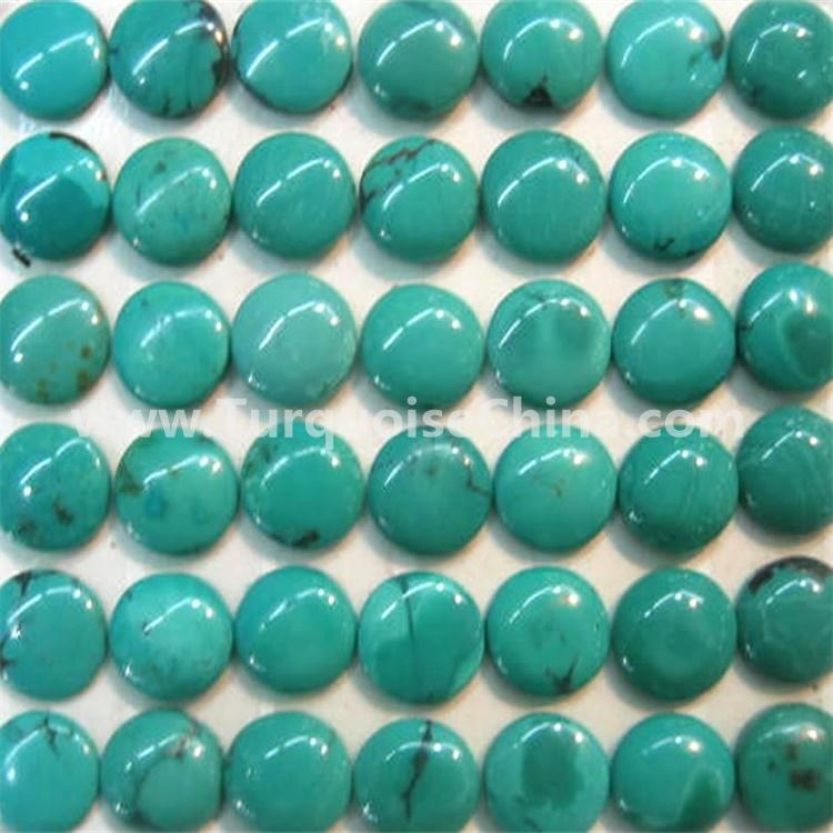 RARE New Lander Turquoise 15x20mm Calibrated Oval Cabochon stone