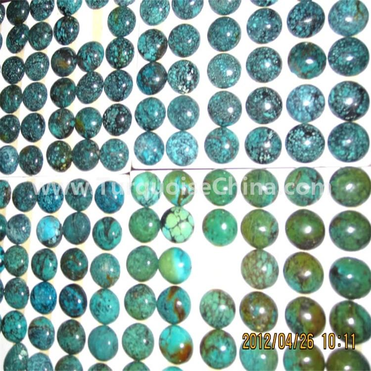 Natural Tibet Turquoise Oval Cabochon Loose Gemstone Collection