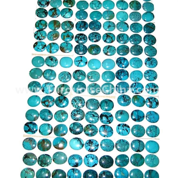 turquoise irregular shape cabochon