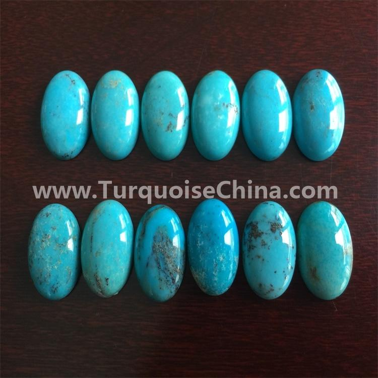 ancient indian style naturally oval shape turquoise jewellery