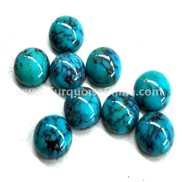 ARIZONA TURQUOISE CABOCHON ROUND 10mm (100000 pieces)