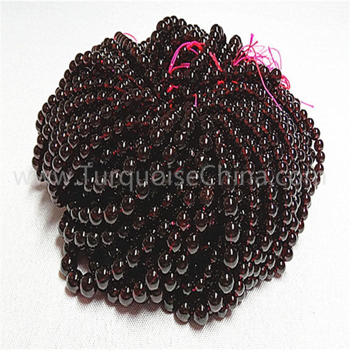 Natural Red garnet AA round shape beads gemstone strings