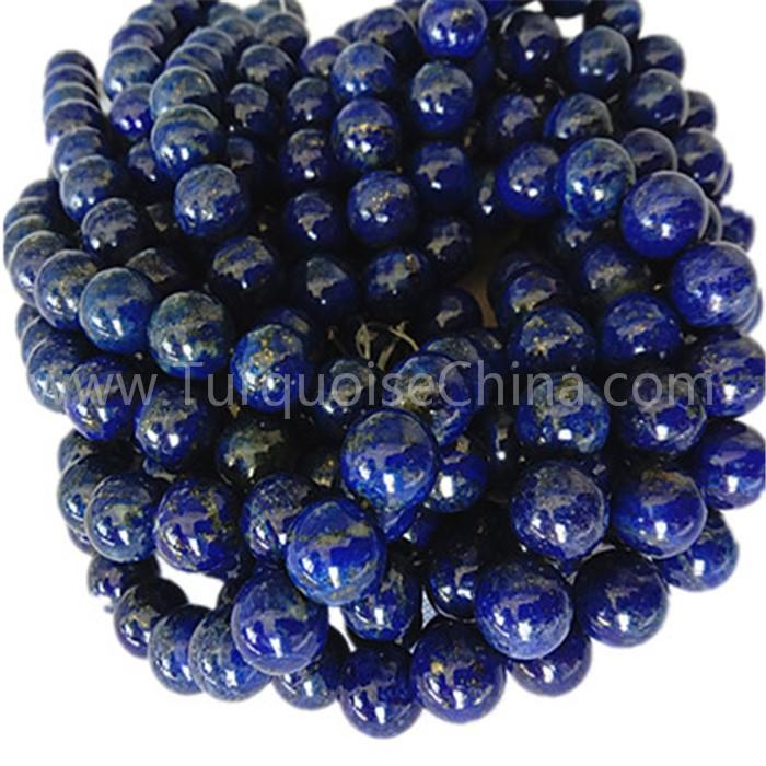 Natural blue Lapis AAA round shape beads gemstone strings