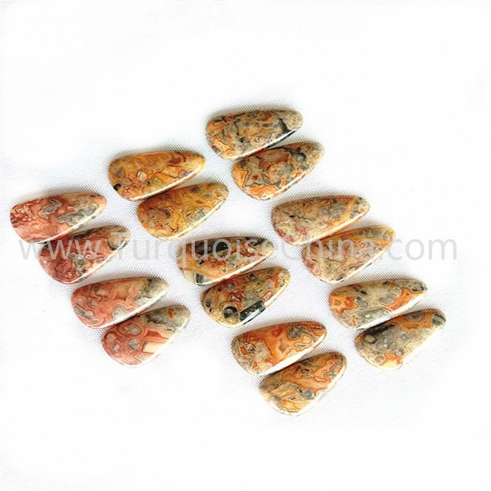 Natural yellow agate stone triangle gemstone wholesale
