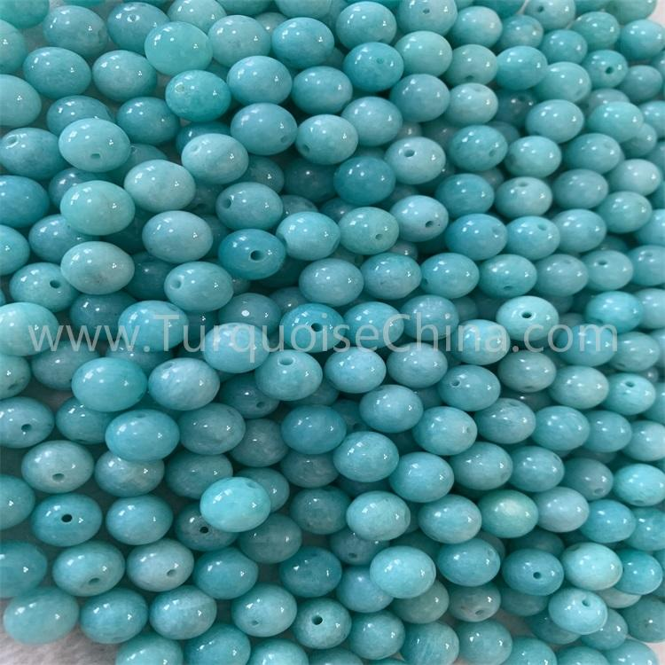 Grade 5A top quality Amazonite 8mm round beads to making top jewelry