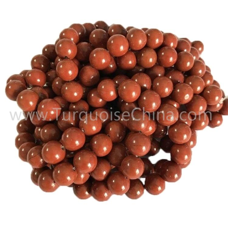 Natural Red Jasper AAA round shape beads smooth gemstone strings