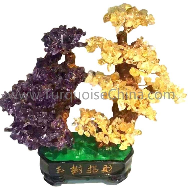 Gemstone Tree Of Fortune And Money Gemstone Trees For Sale