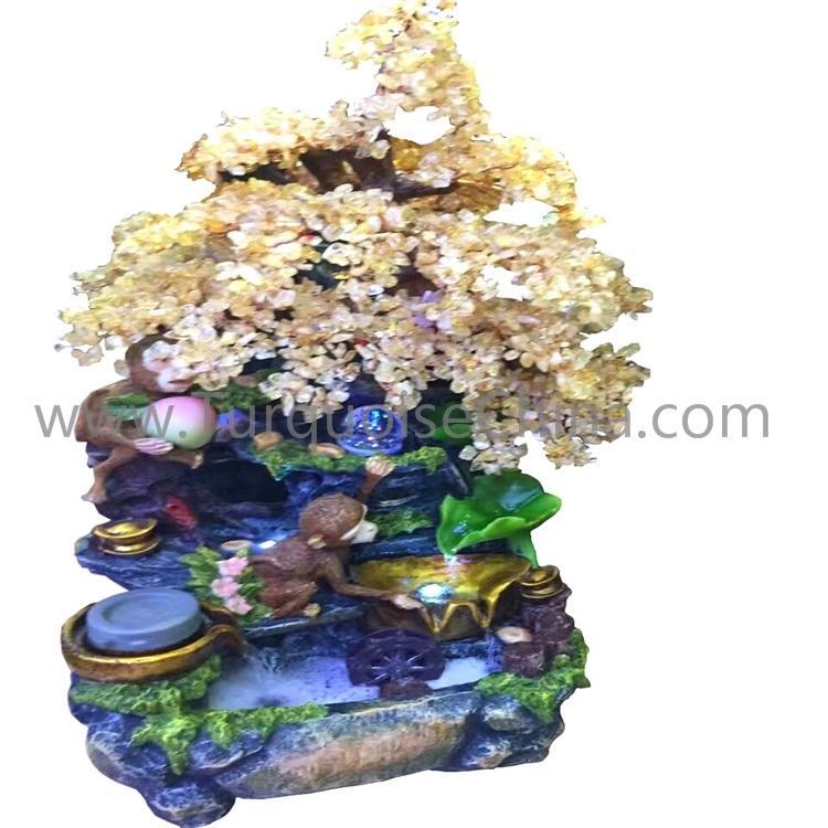 Natural stone gemstone trees wholesale