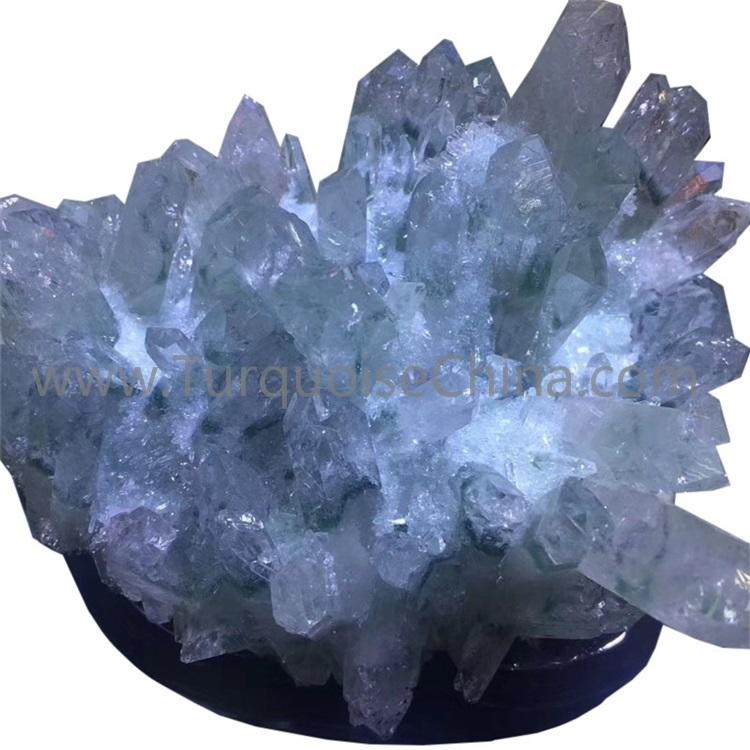 Natural white crystal healing and powerful gemstone tree