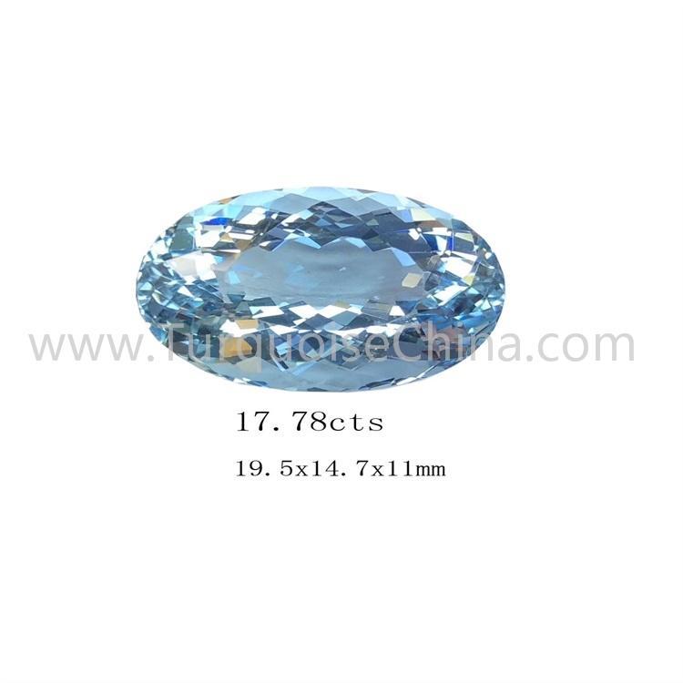 Top Natural Aquamarine Cabochon Gemstone For Jewelryne
