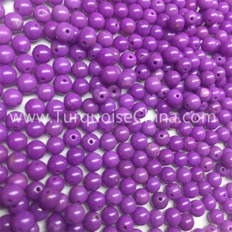 Hot-sale Natural Phosphosiderite Round Loose Gem Beads Wholesale