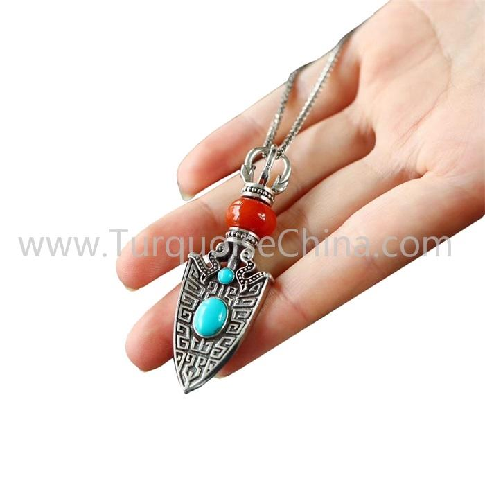 Hot-sale Natural Turquoise Pendant Gemstone Wholesale