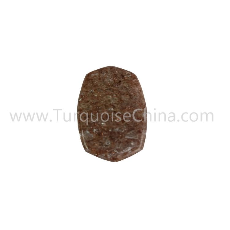 Brown Sunstone Freestyle Shape Cabochon For Making Pendant  Earring Jewelry