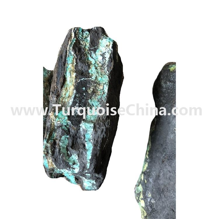 Directly deep from turquoise mine original raw turquoise material