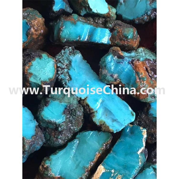 Hardness Naturally Top Blue Ice Quality Turquoise