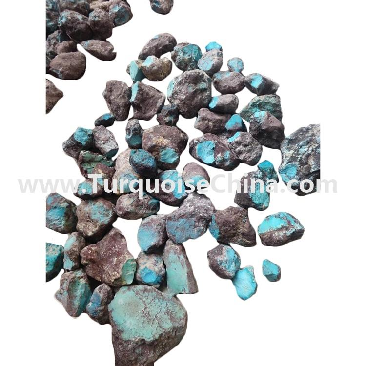 Red Skin Turquoise Rough Material Wholesale