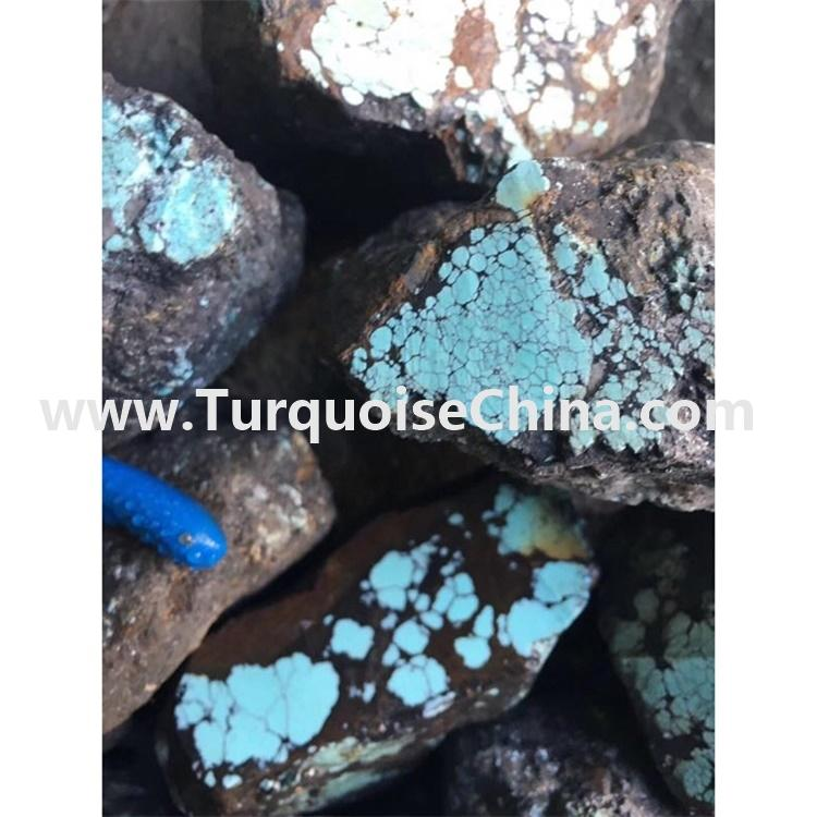 Natural Tibetan Turquoise rough material Gemstone Loose Jewelry