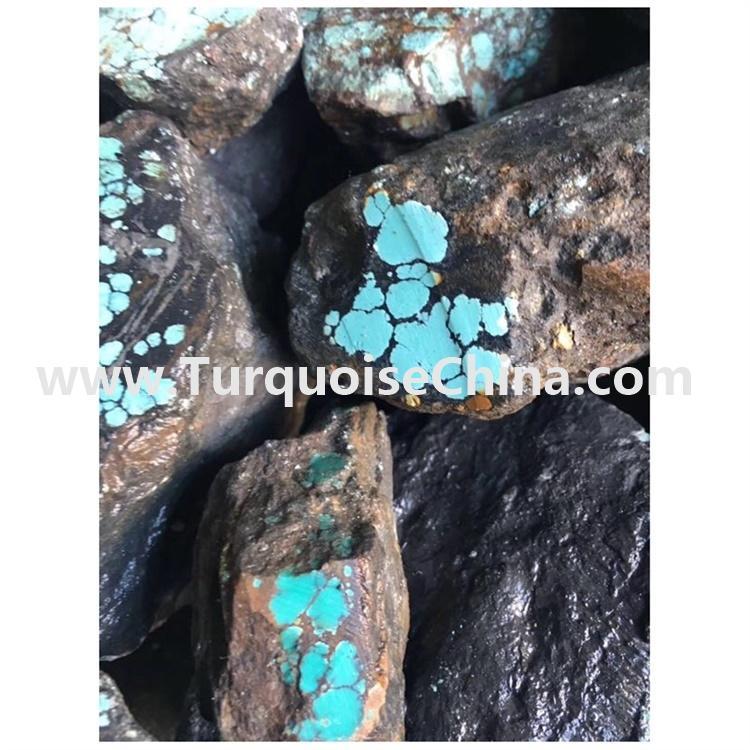 Natural Tibetan Turquoise rough material Gemstone Loose Jewelry