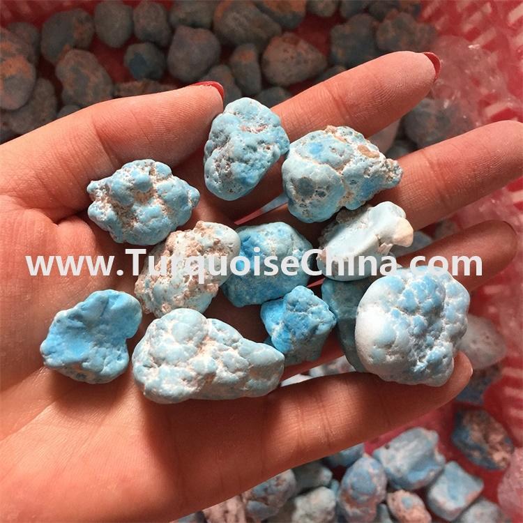 Original Naturals beautiful blue color rough Turquoise loose gemstones