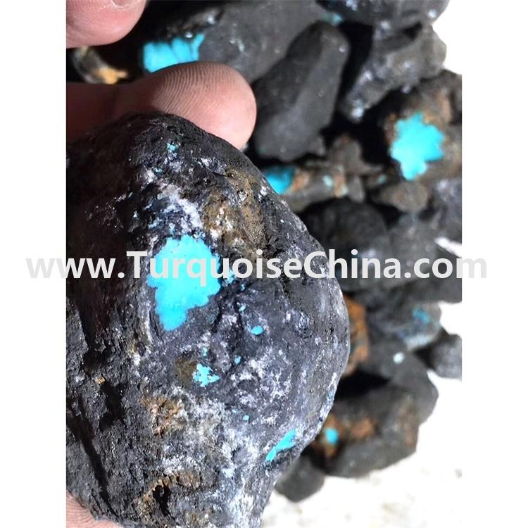 Blue color precious stone top quality turquoise