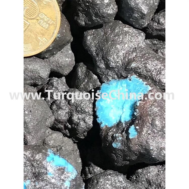 China natural turquoise rough stones