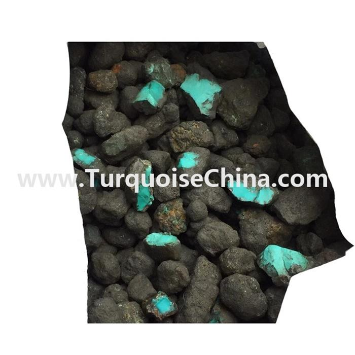 Wholesale Rough Natural Bulk Turquoise Stones for Jewelry Making