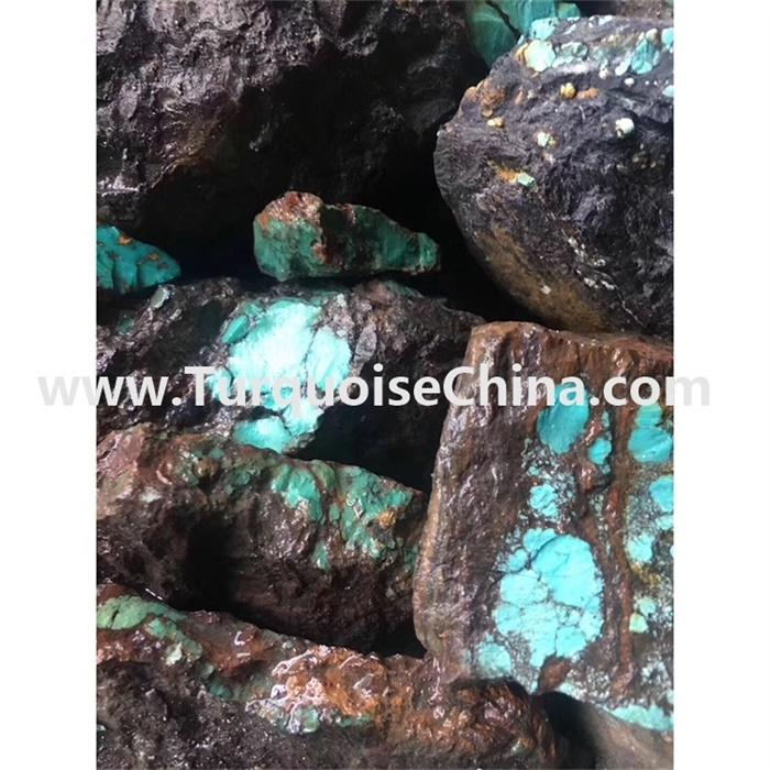 Genuine Natural Turquoise Rough Stone for Turquoise Jewelry