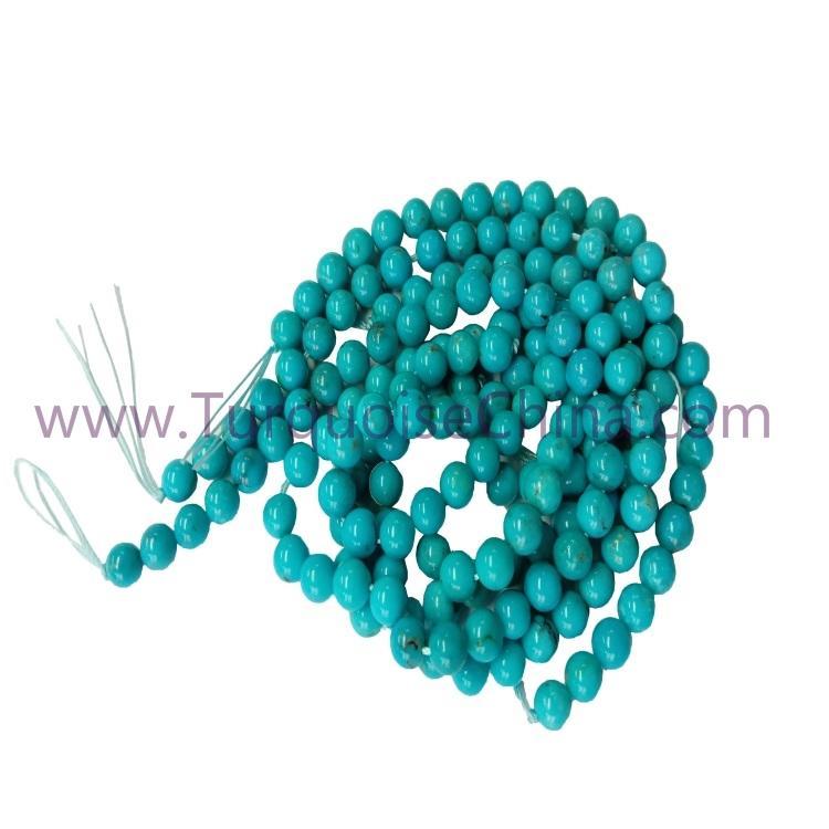 6mm Genuine Turquoise Round Beads Gemstone Wholesale