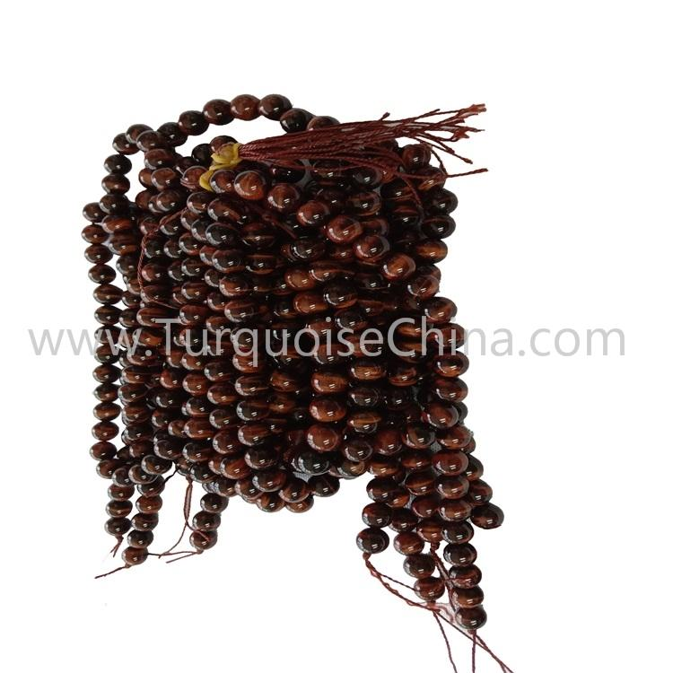 Popular Gemstone Red Tiger's Eye Stone Round Beads