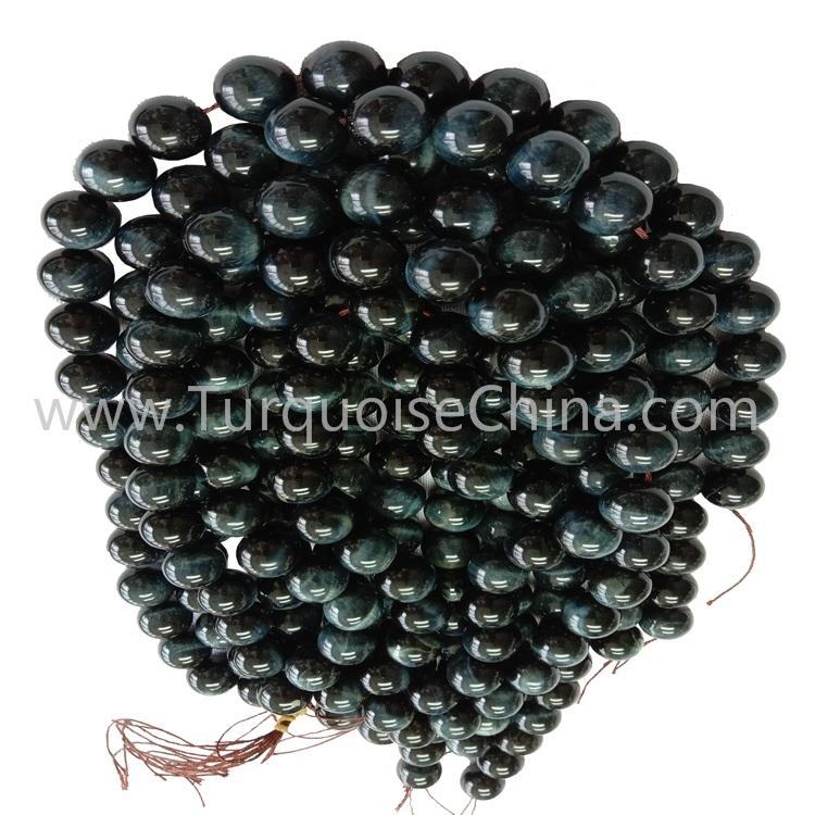 Hot New Blue Tiger's Eye Stone Round Beads Wholesale Gemstone