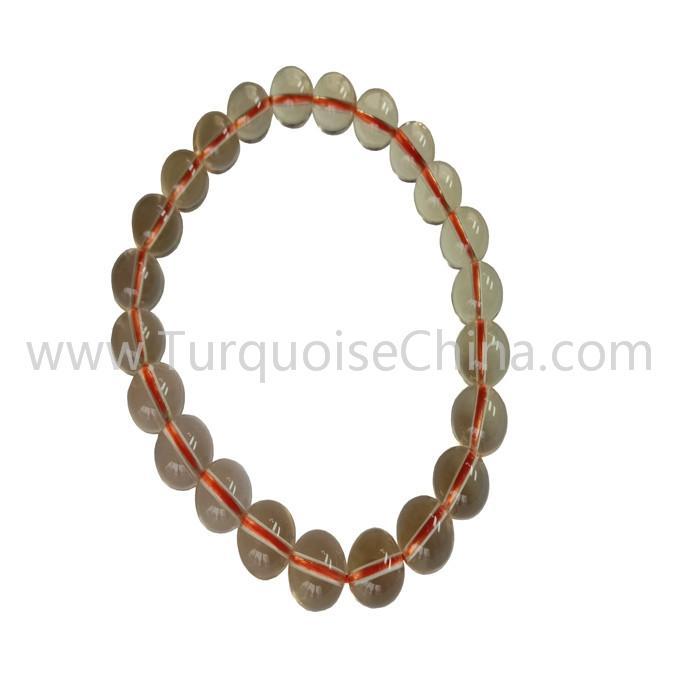 Healing Gemstone Natural Citrine Round Beads Yellow Bracelets