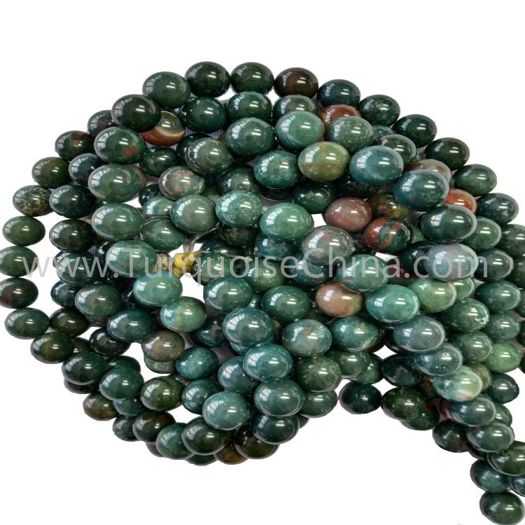 Wonderful Bloodstone Round Beads Fit For Man Woman