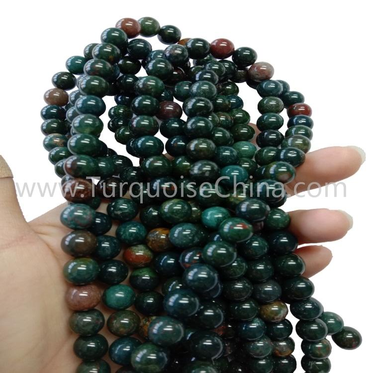 Natural Popular Bloodstone Round Beads Wholesale