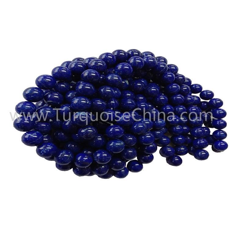Fashion Lapis Round Beads Blue Gemstone Stings
