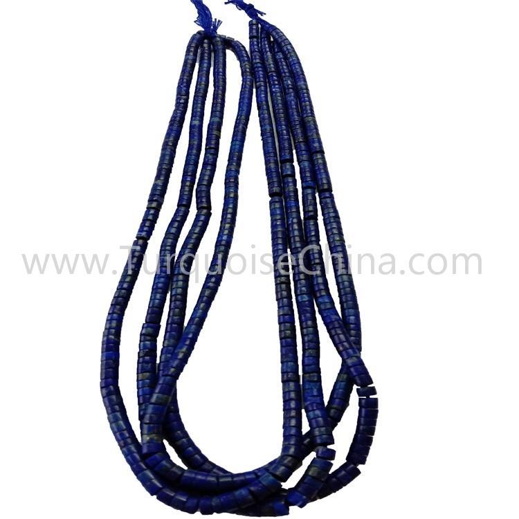 Natural Lapis Heishi Beads Strings Wholesale
