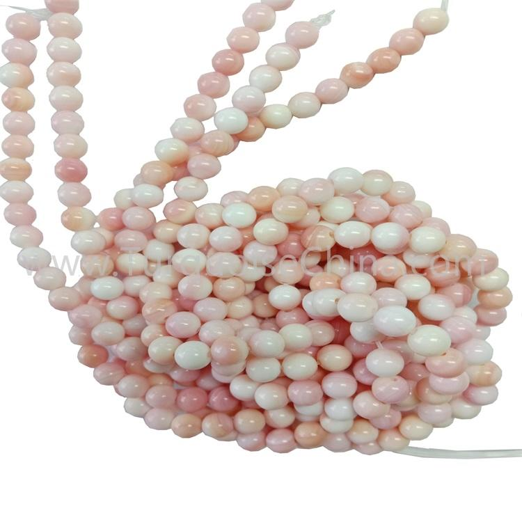 Natural Queen Shell Round Beads Wholesale For Necklace Bracelet