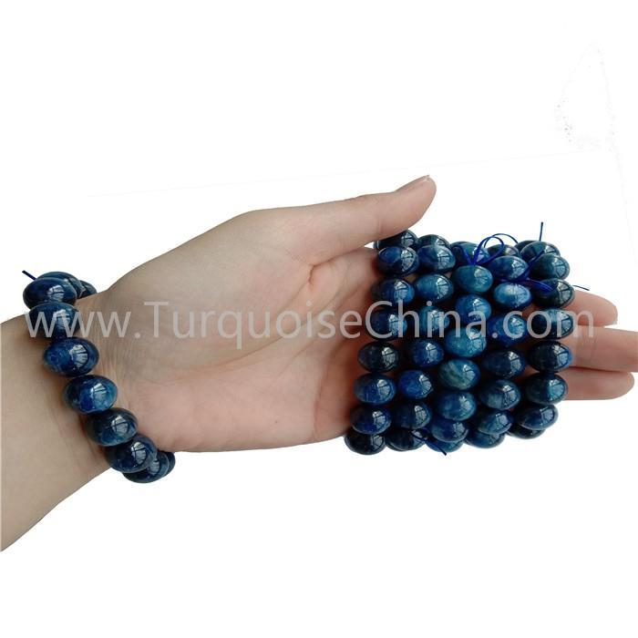 New Kyanite Round Beads Bracelets Wonderful Gemstone