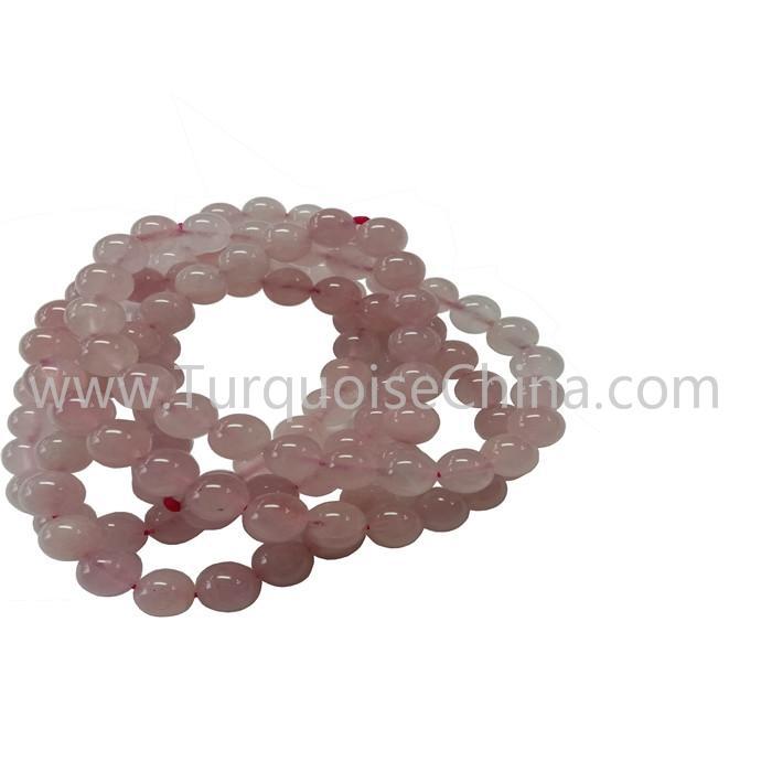 Grade A Wonderful Rose Quartz Round Beads Bracelets For Woman