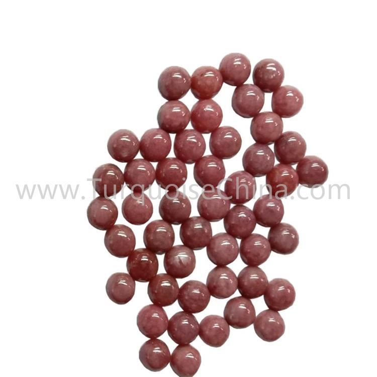 Beautiful Natural Rhodonite Round/Square Cabochon Gemstone Wholesale